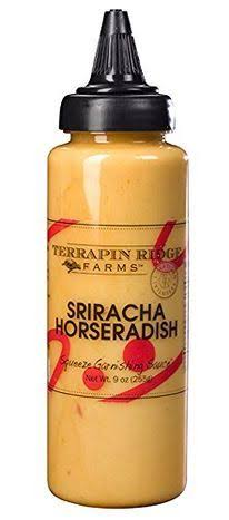 Terrapin Ridge Farms Sriracha Garnishing Squeeze - Horseradish, 9oz