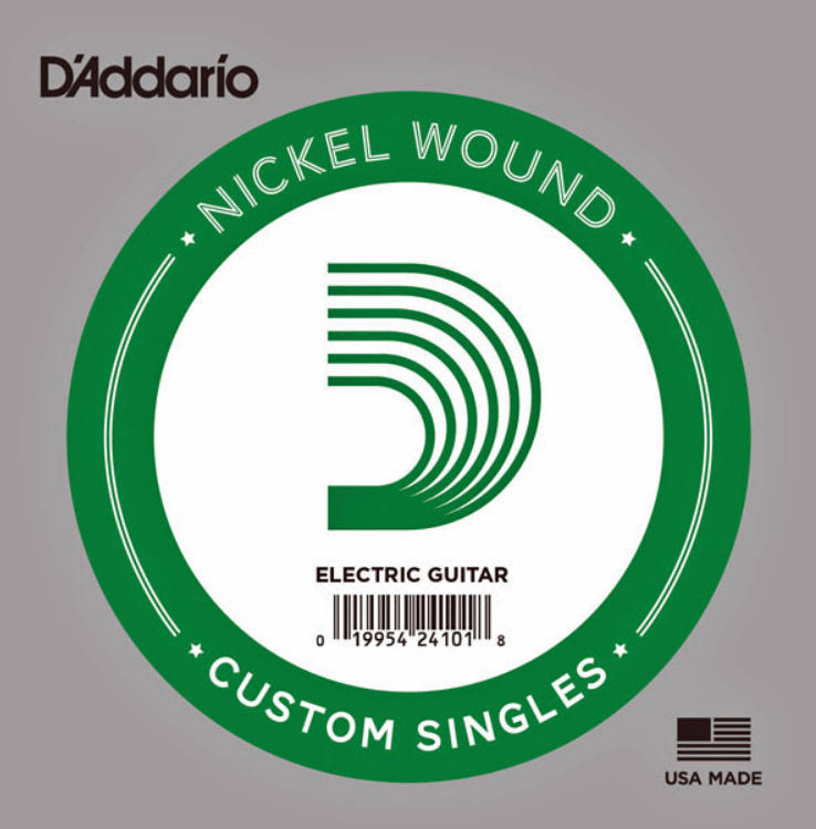 D'Addario NW032 Single Nickel Wound Electric Guitar Strings