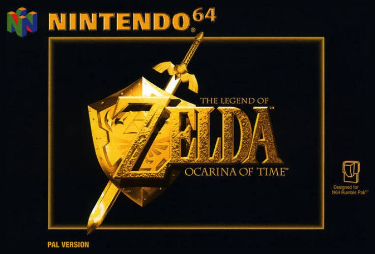 The Legend of Zelda Ocarina of Time [64 Game]