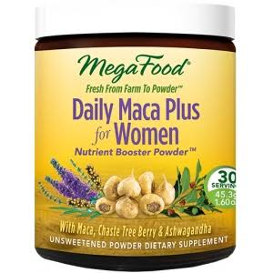 Mega Food Daily Maca Plus Women Over 40 Dietary Supplement - 1.6oz
