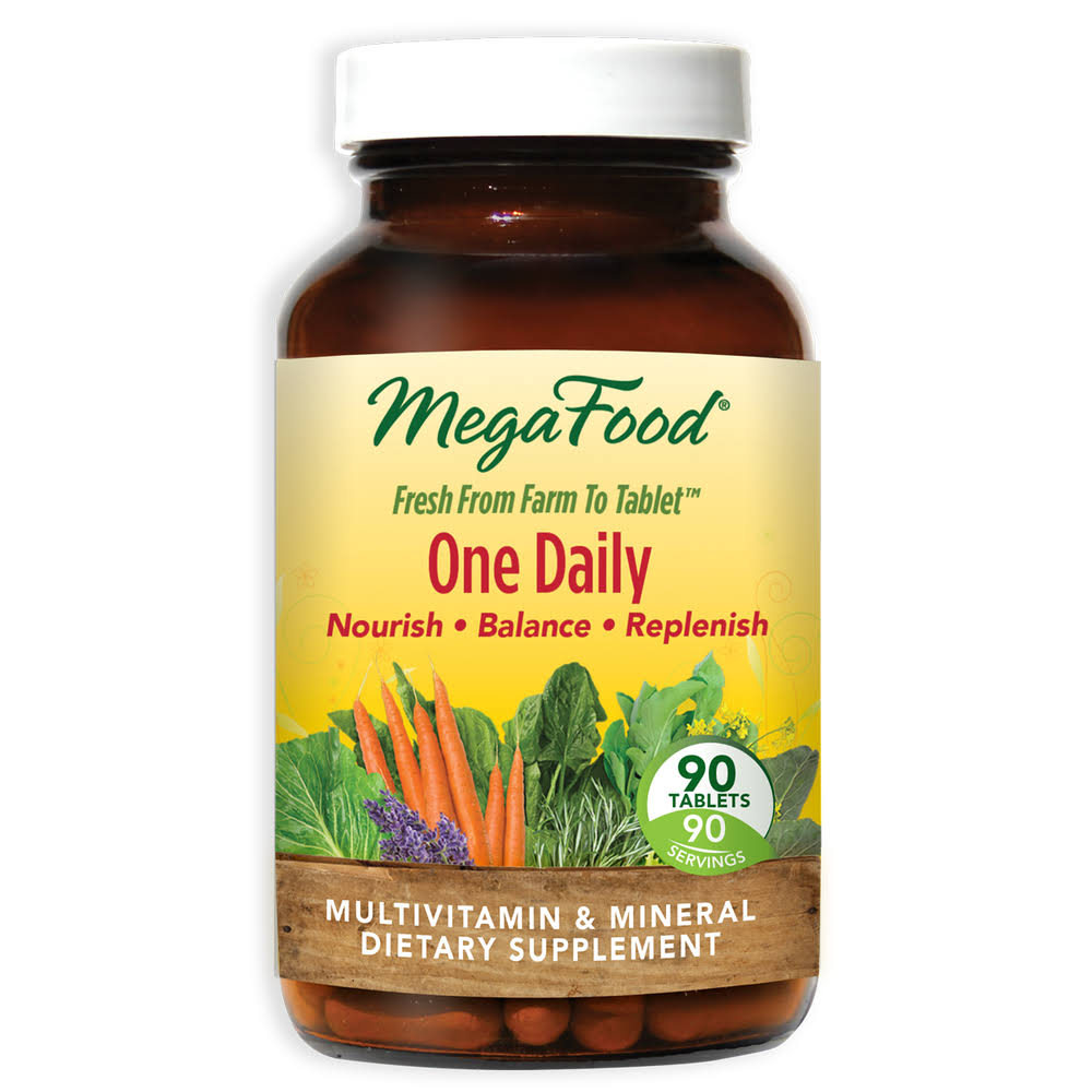 MegaFood One Daily Multivitamin Dietary Supplement - 90 Tablets