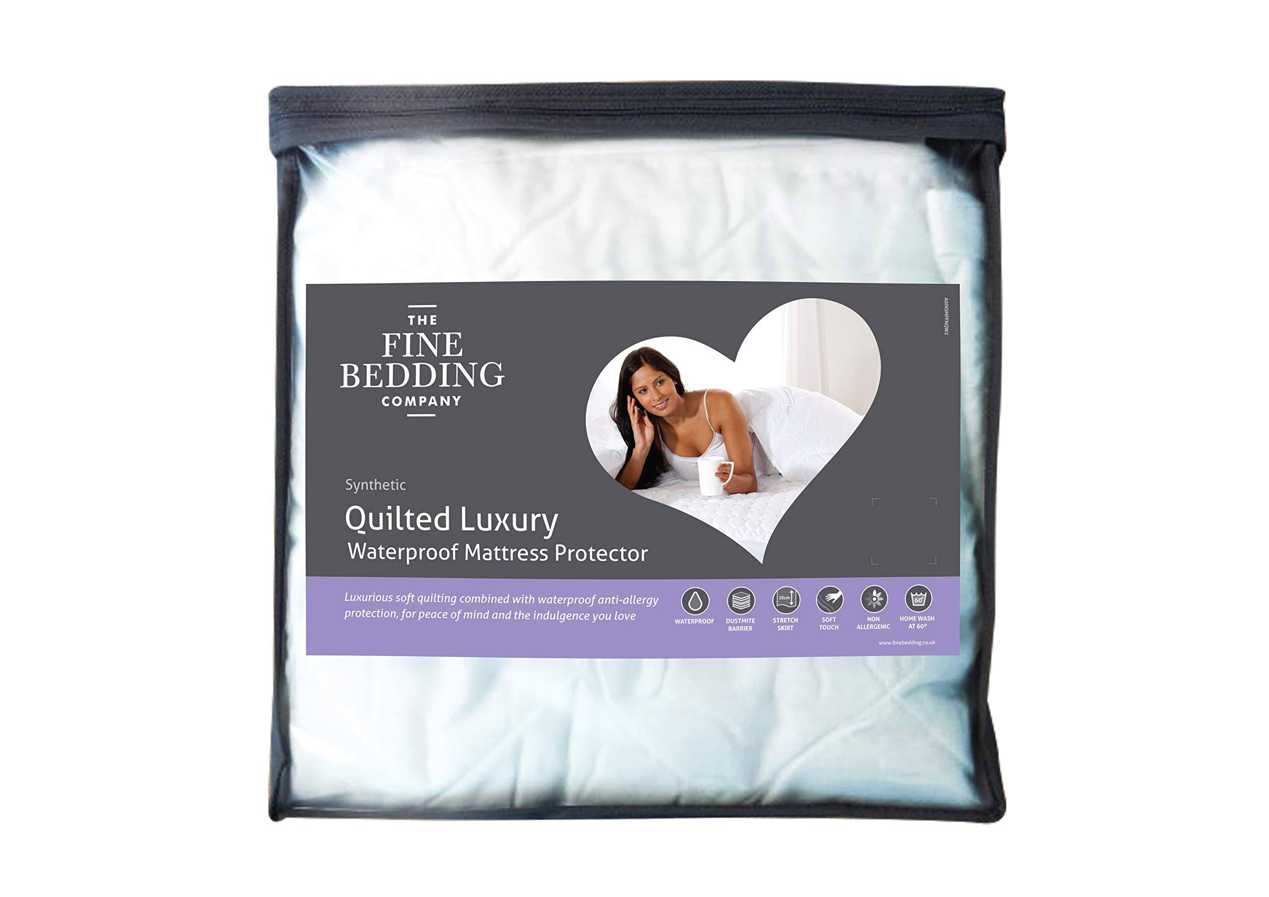 The Fine Bedding Company, Quilted Luxury Waterproof Mattress Protectors