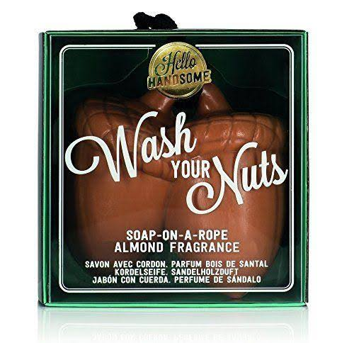 Wash Your Nuts Soap On a Rope Almond Fragrance