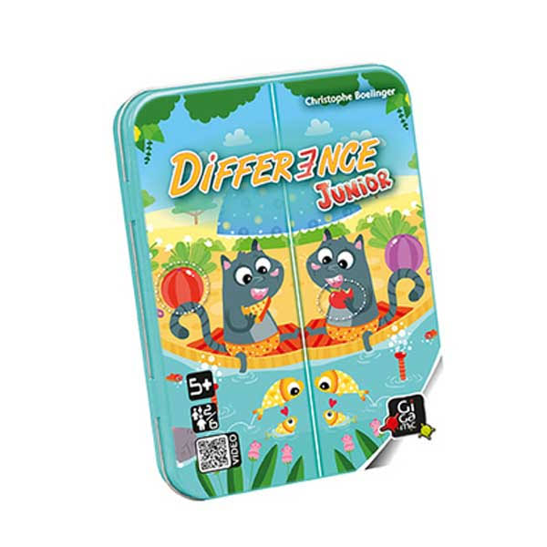 Gigamic Difference Junior Card Game