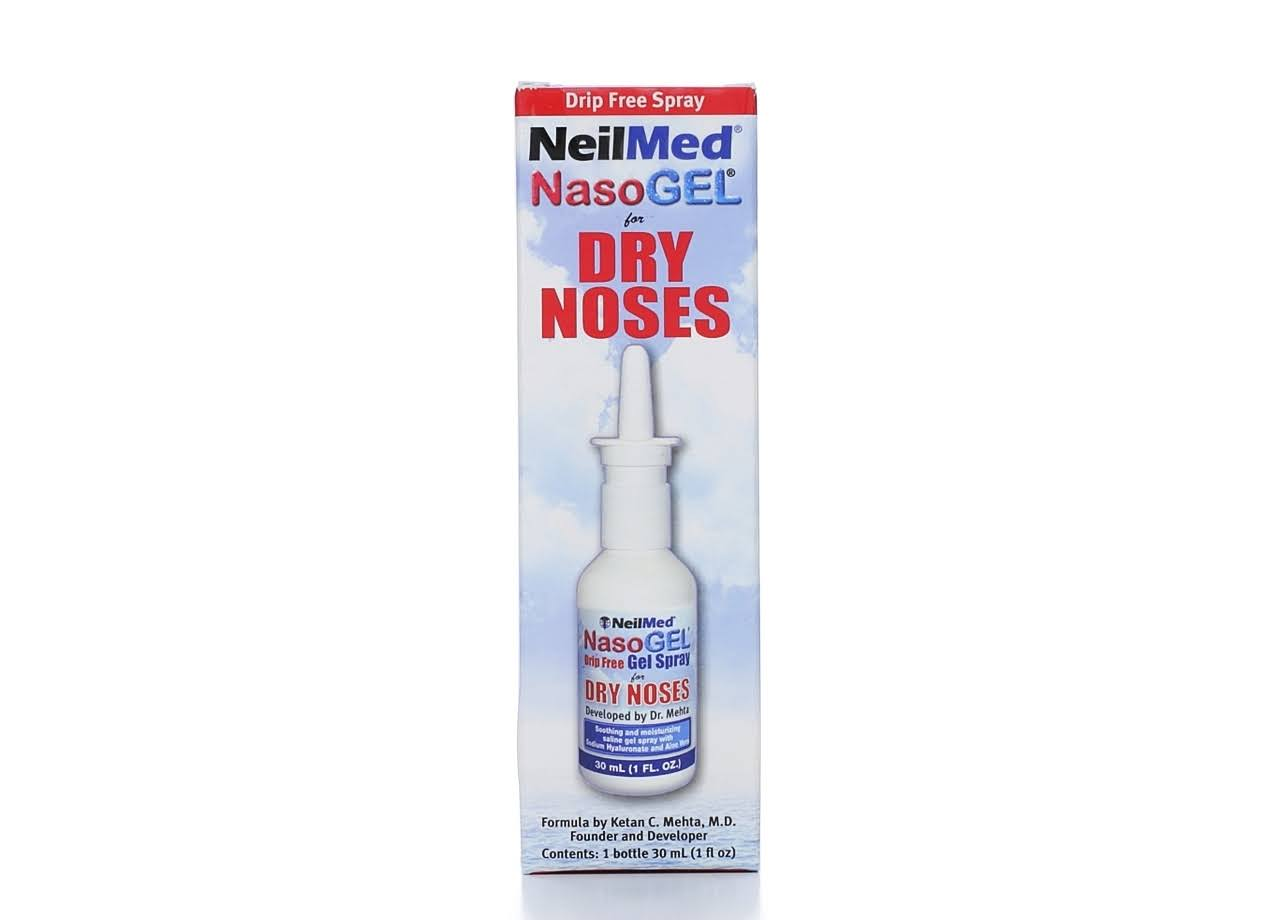 NeilMed NasoGel for Dry Noses Drip Free Spray