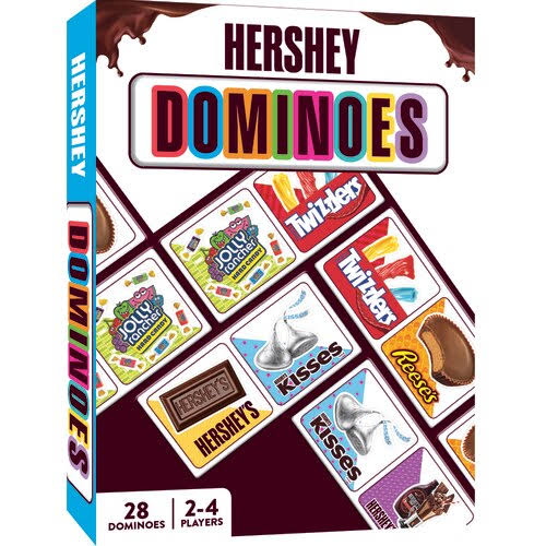 Masterpieces Puzzle Company Hershey Kids Dominoes - 28pcs, 2 to 4 Players