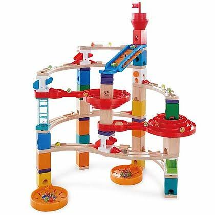 Quadrilla Super Spiral Marble Run Set