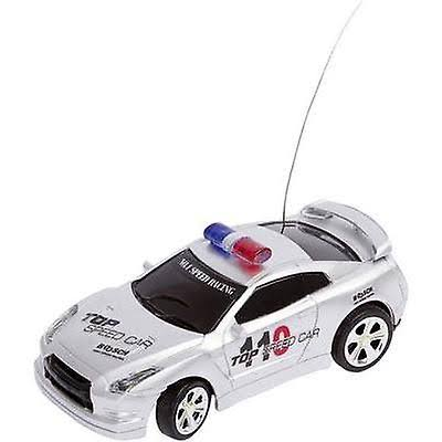 HQ Kites RC Police Car, Silver