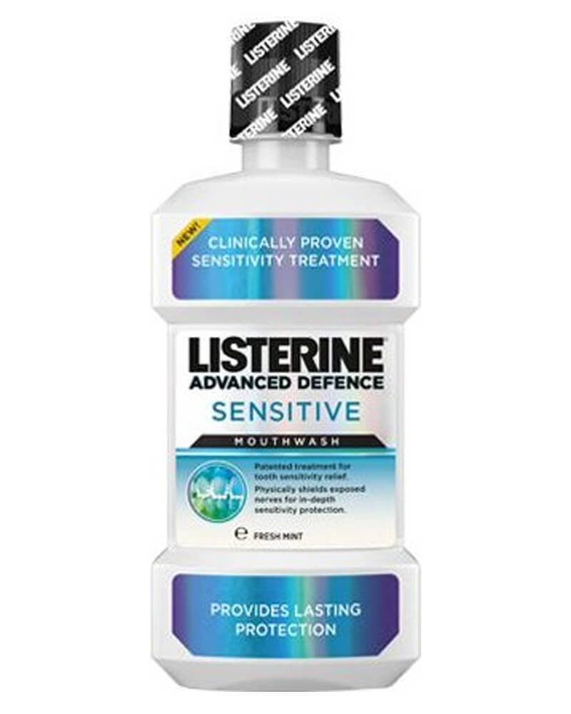 Listerine Advanced Defence Sensitive Mouthwash - 500ml