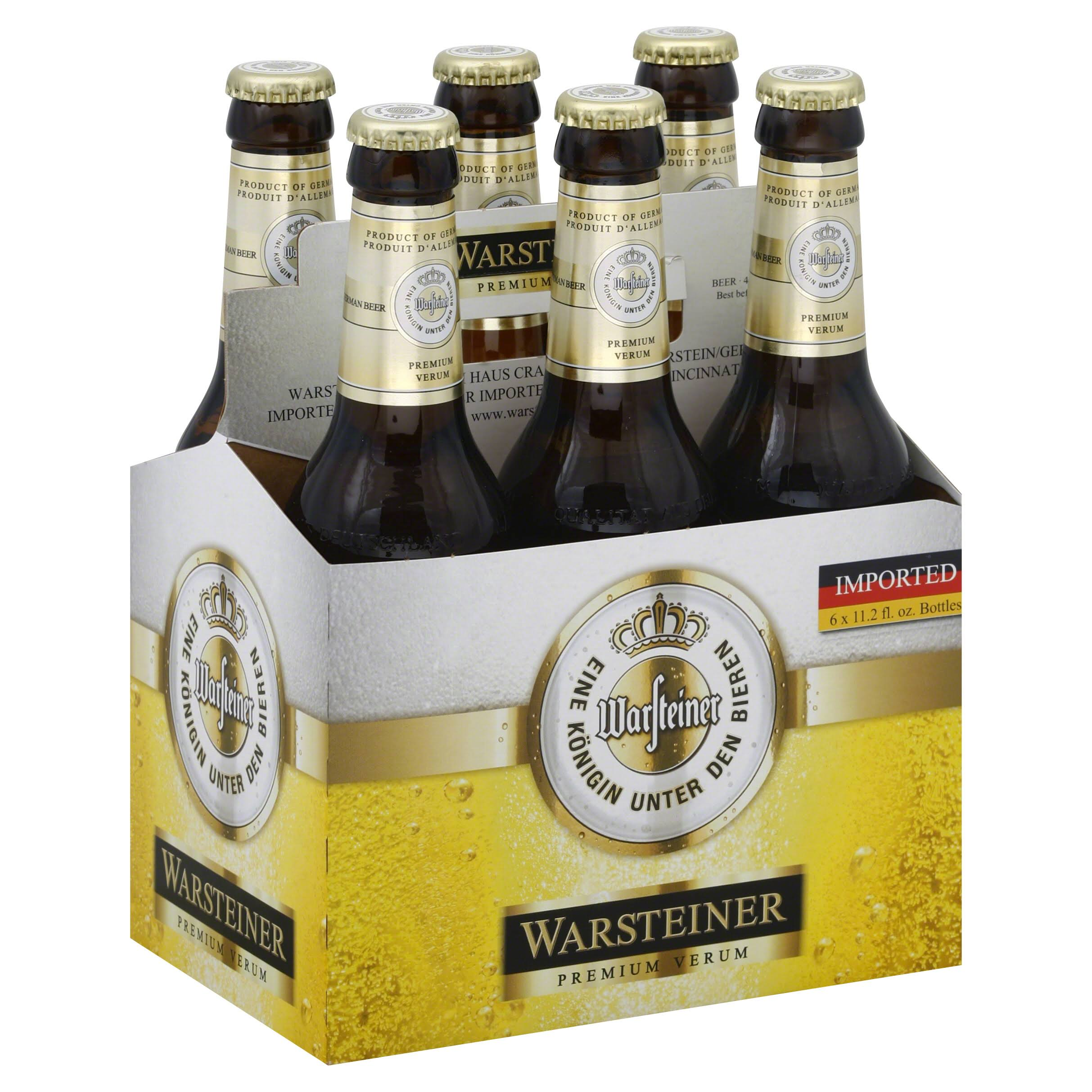 Warsteiner German Beer - 12oz, 6pk