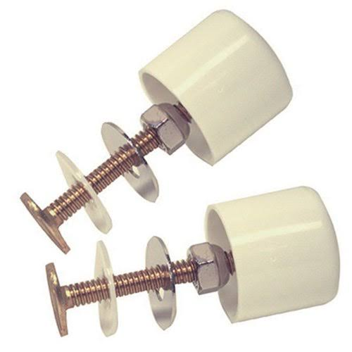 "Danco 88884 Twister Toilet Cap - 5/16"" Bolts"