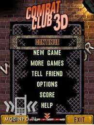 اللعبة القتالية Combat Club