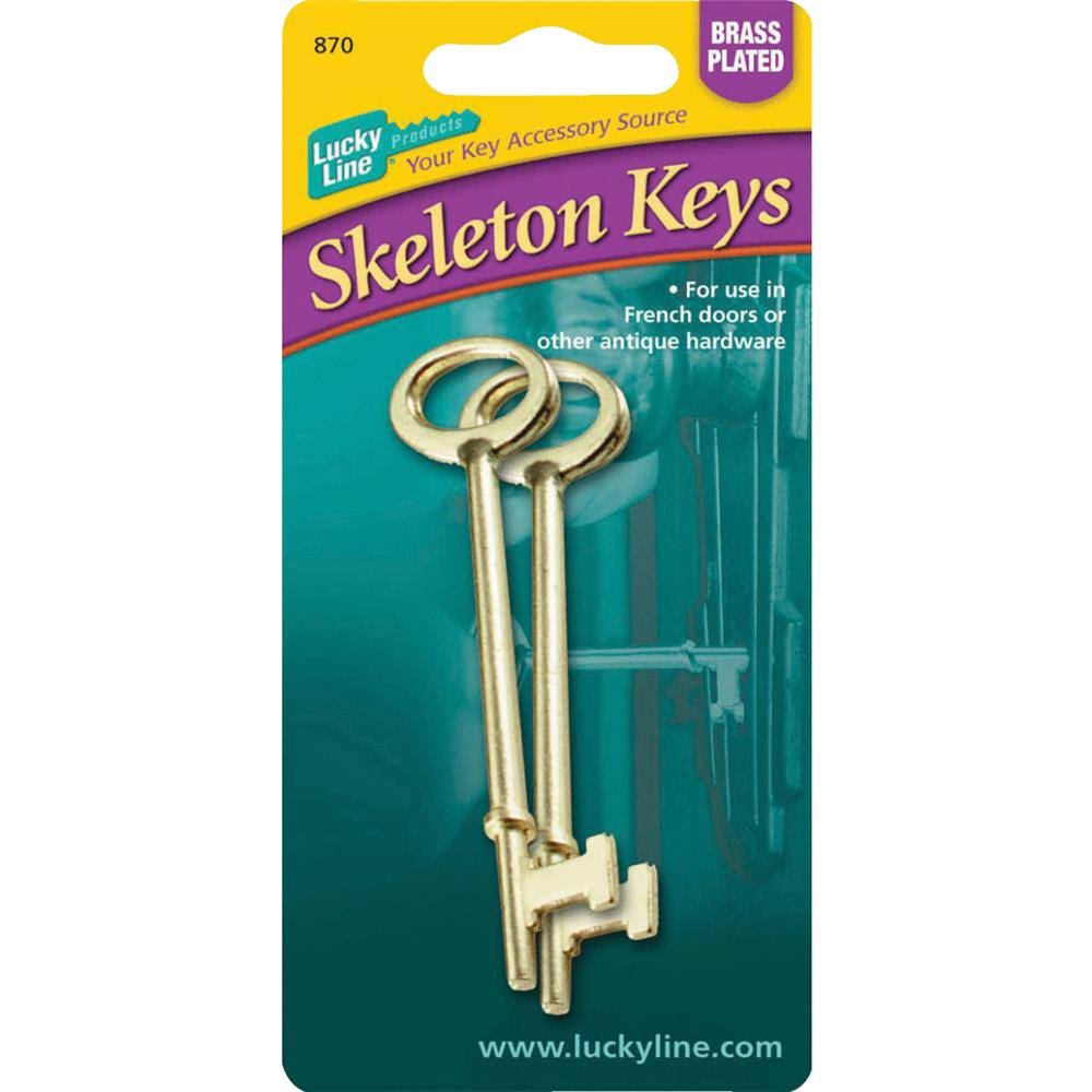 Lucky Line 87002 Skeleton Keys