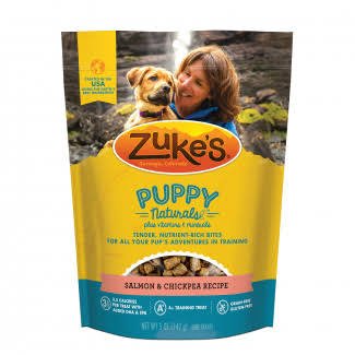 Zuke's Puppy Naturals Dog Treats - Salmon and Sweet Potato Recipe, 5oz