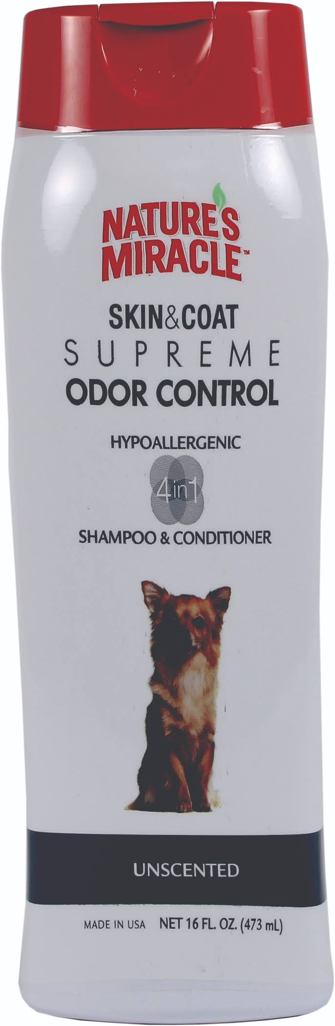 Nature's Miracle Supreme Odor Control Hypoallergenic Shampoo and Conditioner - Unscented