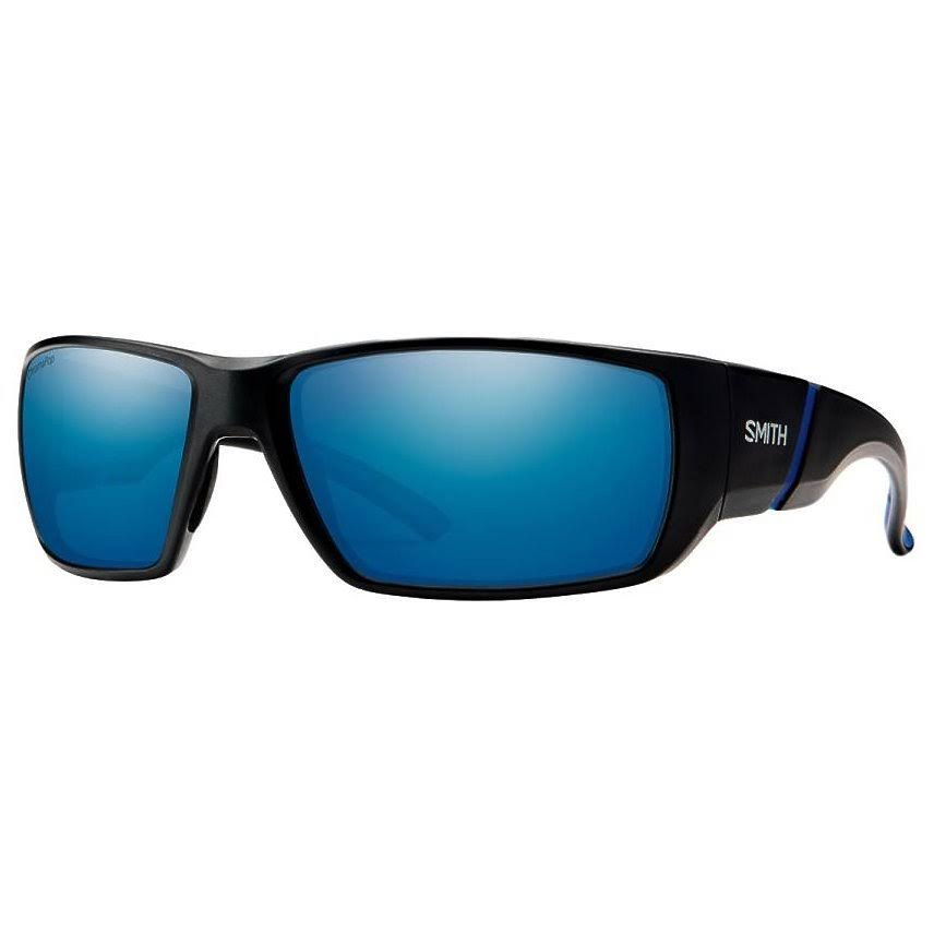 Smith Optics Sunglasses - Matte Black and Blue Mirror