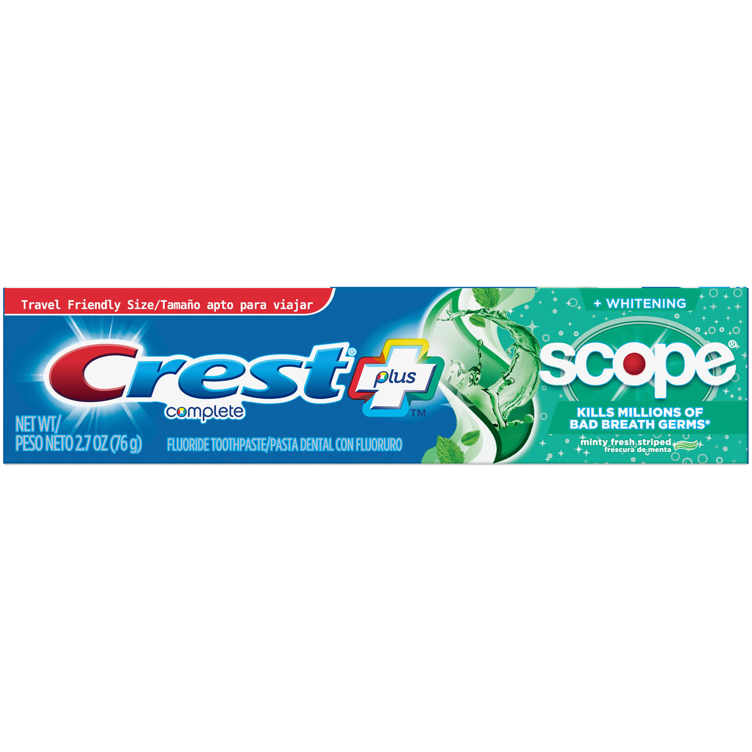 Crest Complete Multi-Benefit™ Toothpaste - Mint, 76.5g