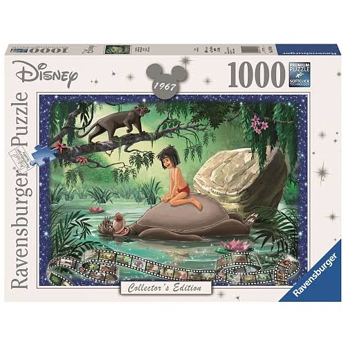 Ravensburger Disney Collector's Edition Jungle Book Jigsaw Puzzle - 1000pcs