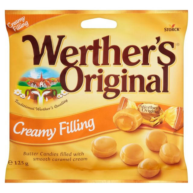 Werther's Original Toffee - Creamy Filling, 125g
