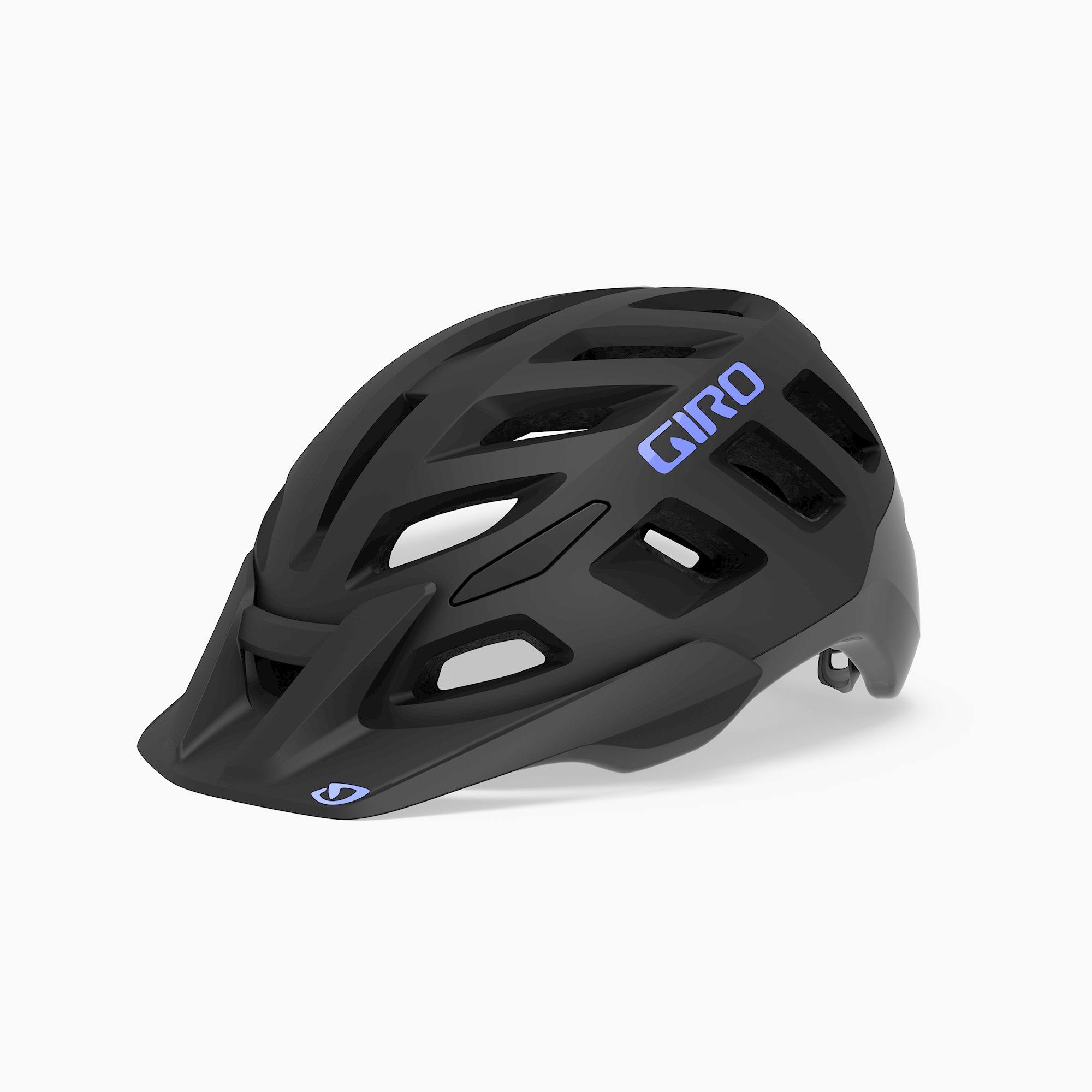 Giro Women's Radix Mips W Helmet - Matte Black/Electric Purple