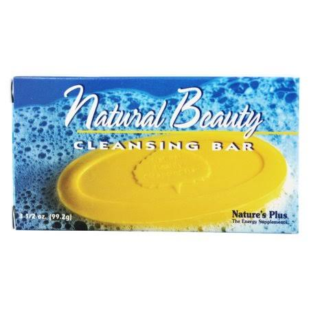 Nature's Plus Natural Beauty Cleansing Soap - 3.5 oz bar