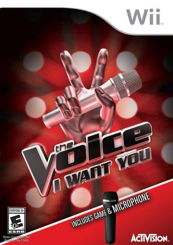 Wii The Voice I Want You (Game Only No Mic)