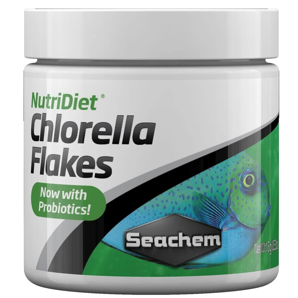 Sea Chem Laboratories 1039 Nutri Diet Chlorella Flakes Food - 0.5oz