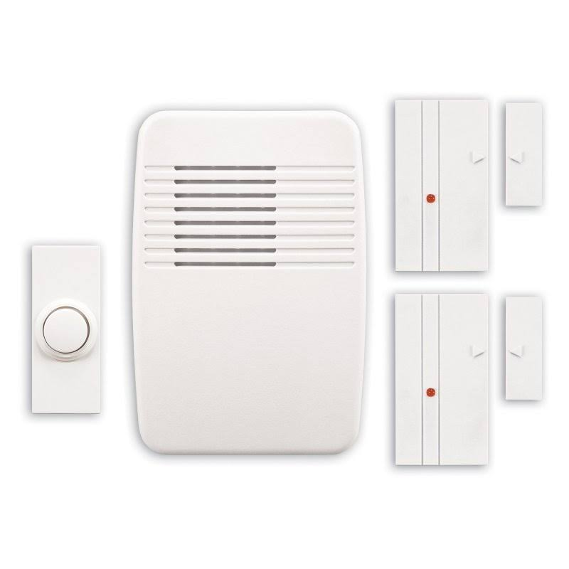Heath Zenith Wireless Plug In Chime Kit - White
