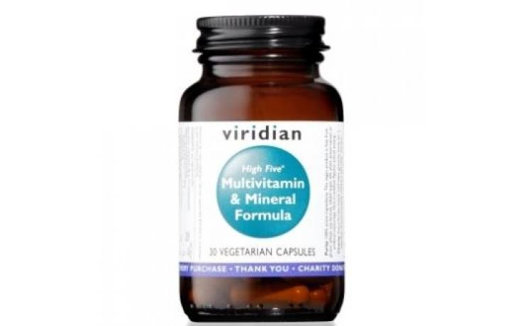 Viridian High Five Multivitamin & Mineral Formula - 30 capsules