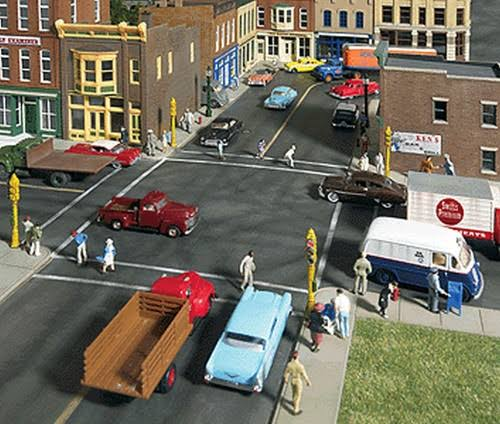 Walthers Cornerstone HO 933-3194 Street System Asphalt Set Kit