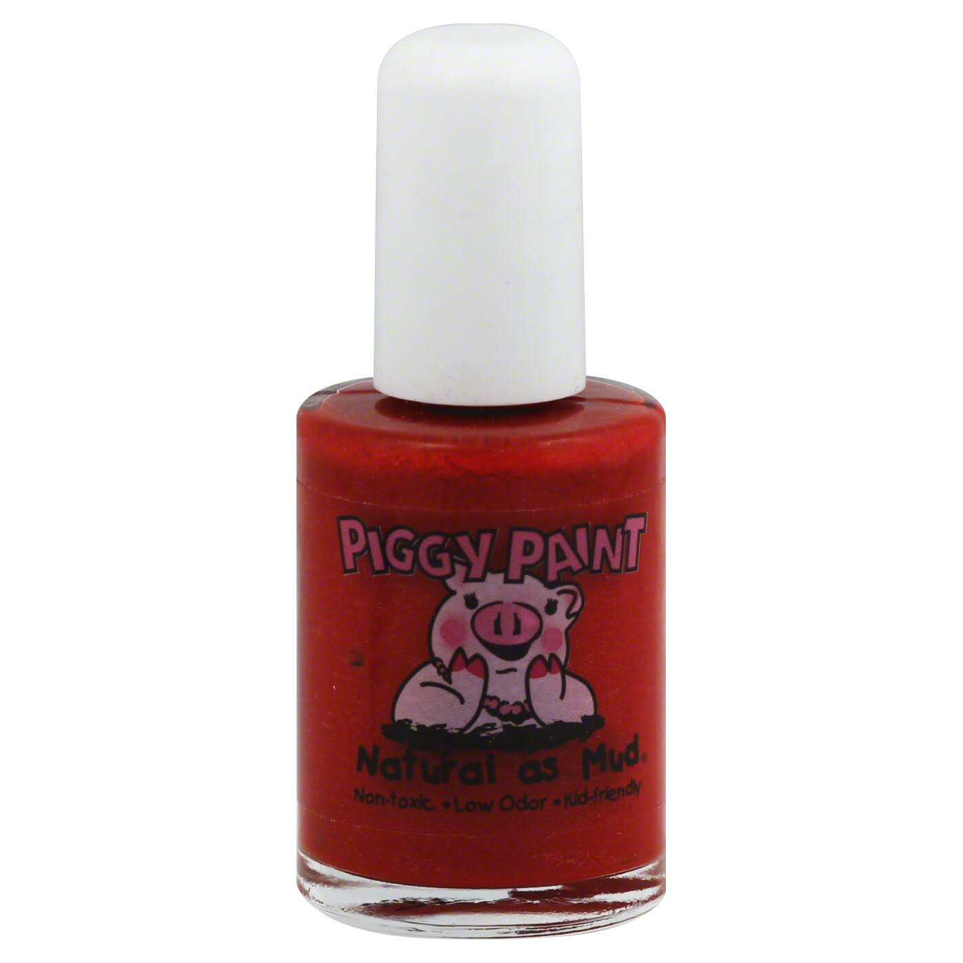 Piggy Paint Non-Toxic Girls Nail Polish - Bright Red