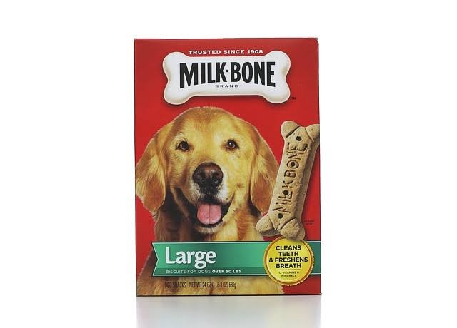 Milk Bone Original Biscuits Chews Dog Treats - Large, 24oz