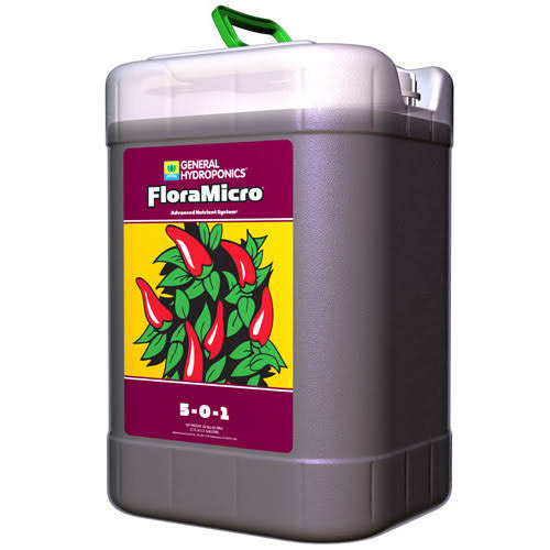 General Hydroponics Floramicro Fertilizer - 6gal