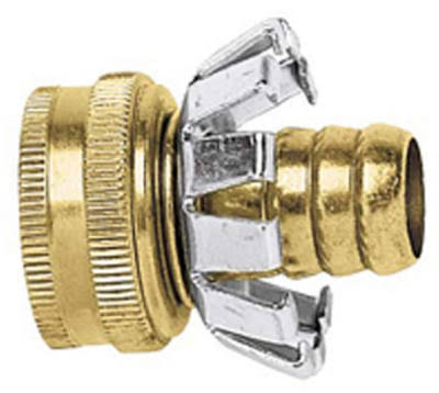 Gilmour Group Green Thumb Female Clincher - Brass