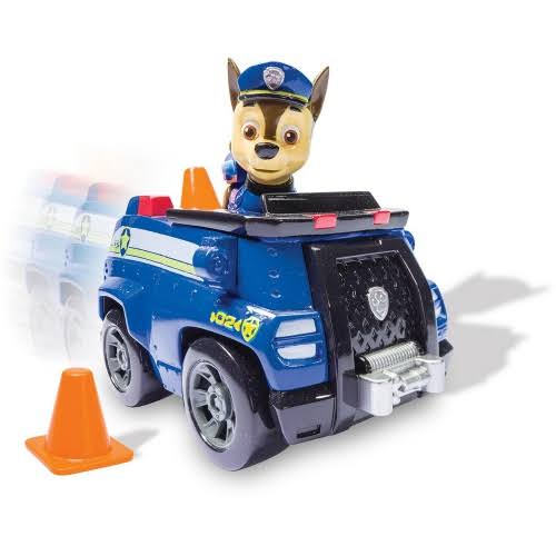 Nickelodeon Paw Patrol Vehicle and Figure Toy - Chase's Cruiser