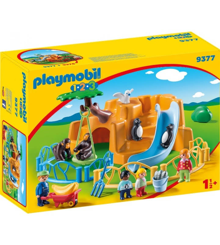 Playmobil 123 Zoo Playset