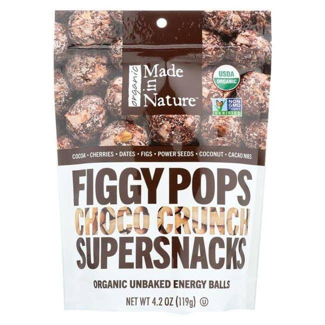 Made In Nature Organic Figgy Pops Choco Crunch Supersnacks