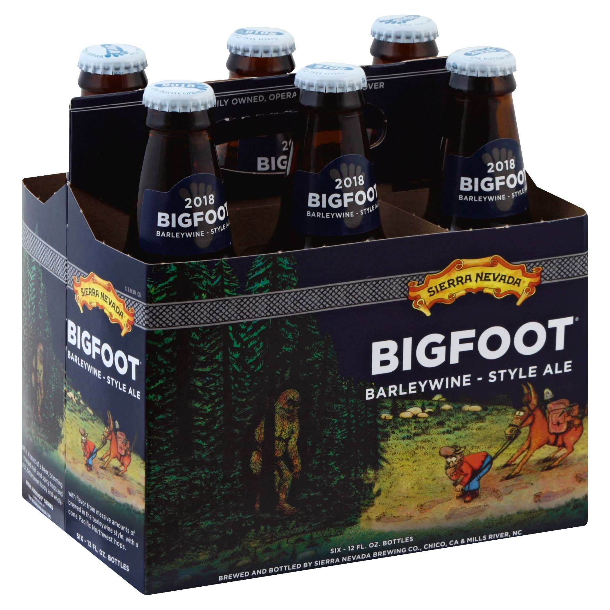Sierra Nevada Bigfoot Barleywine Style Ale - 6 Pack