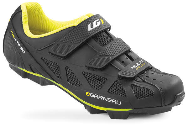 Louis Garneau Men's Multi Air Flex Cycling Shoes (Bright Yellow, 43)