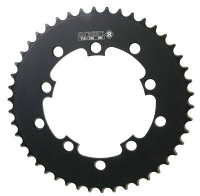 Origin8 Fixie Fixed Gear BMX SS 10h Chainring - Black, 46t, 110/130