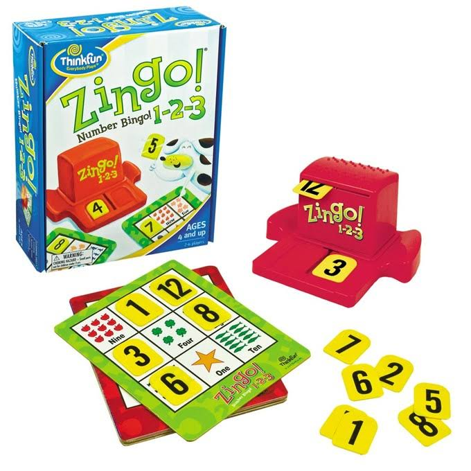ThinkFun Zingo! 1-2-3