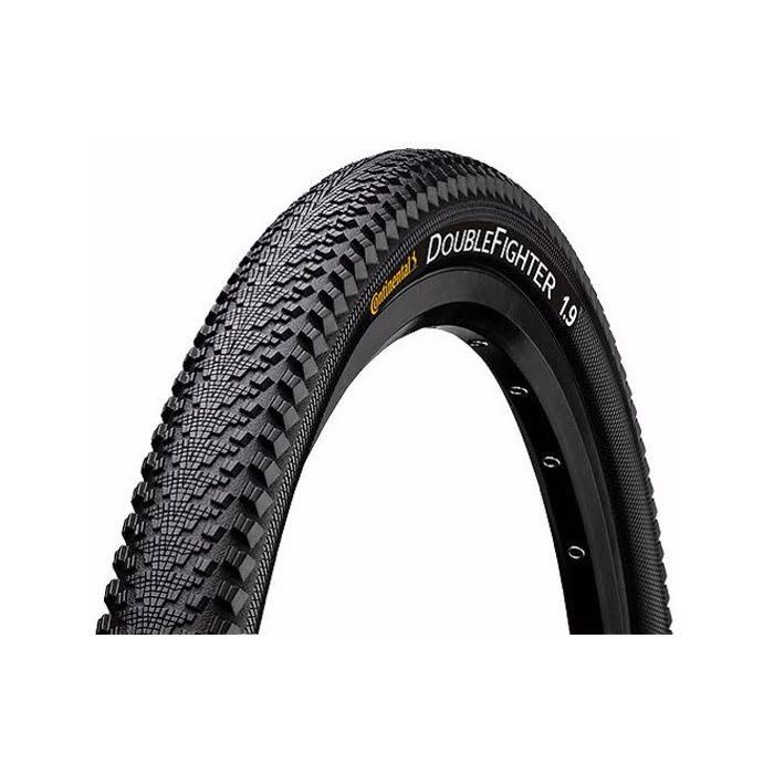 "Continental Double Fighter III 26 x 1.9"" Tire - Black"