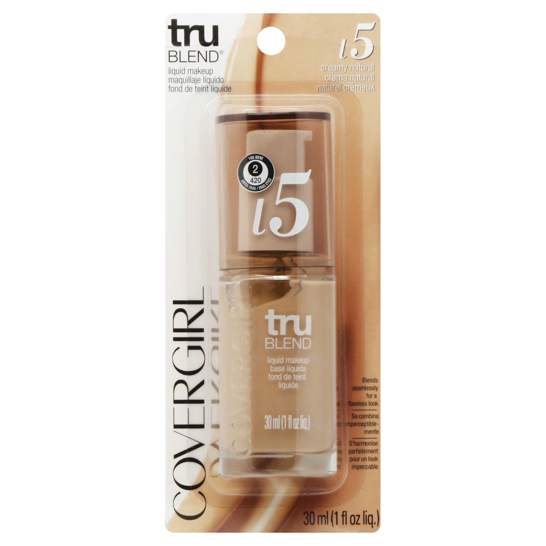 CoverGirl Trublend Liquid Makeup - Creamy Natural L5, 1oz