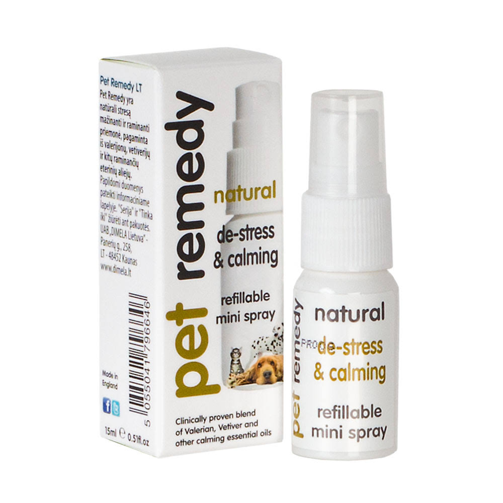 Pet Remedy Mini Calming Spray - 15 ml