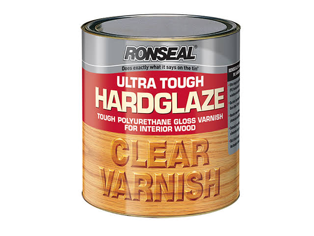 Ronseal Ultra Tough Hardglaze Interior Wood Varnish - Clear