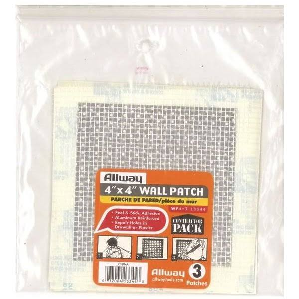 "Allway Tools Drywall Patch - 4"" x 4"""