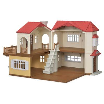 Calico Critters - Red Roof Country Home