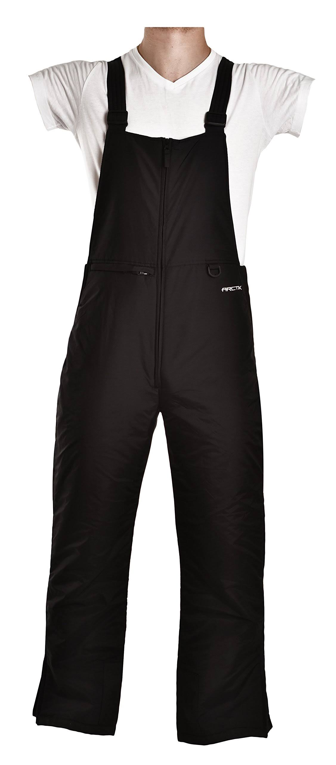Arctix Men's Classic Bib Snow Pants - Black, X Large