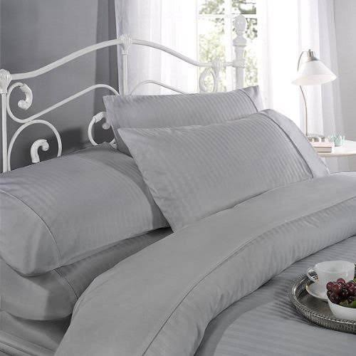 Dorchester Luxury Cotton Sateen Stripe Duvet Set, Superking