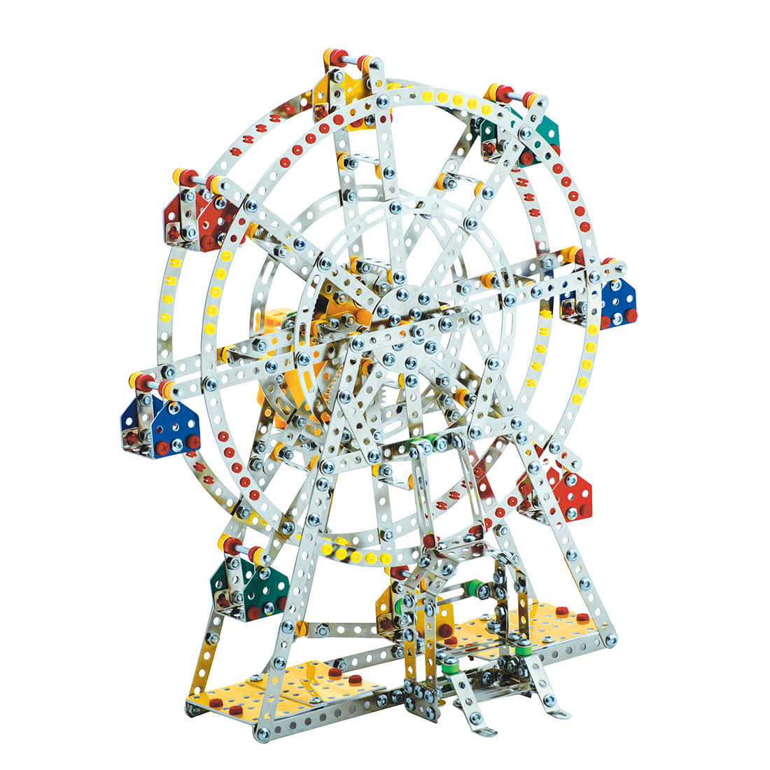 Steel Works Metal Ferris Wheel Construction Set - 954ct